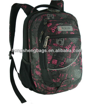 Fashion school backpacks with high quality