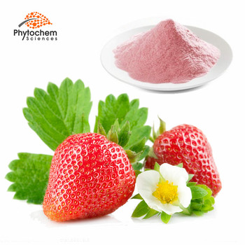 soluble instant strawberry fruit juice flavour organic strawberry powder