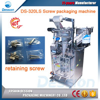 Small granule counting metal parts sachet vertical packing machine