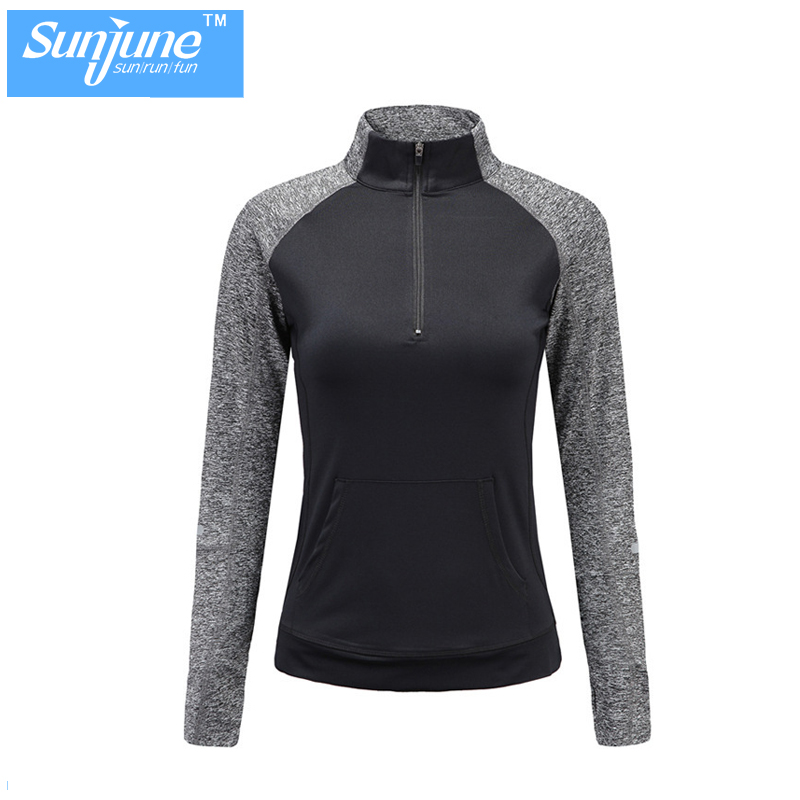 Custom fitness germany women supplex sport wear gym shirts