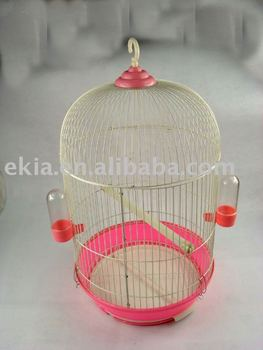 round bird house pet cage