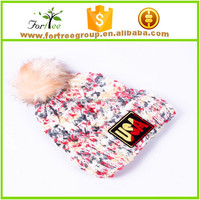 fashionable logo embroidered winter hats beanies manufacturer