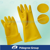 for Children beautiful color natural latex household gloves size xxs