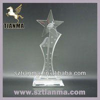Hot sale cheap crystal trophy crafts