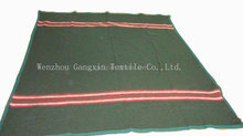 recycled polyester brushed moving military blanket