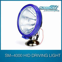 Fashion round12V 24V spot beam driving light IP67 hid xenon headlamp light sm4000