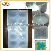 silicone rubber soap mould making