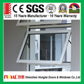 Factory customized alluminium window with toughened glass
