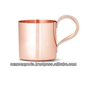 Smirnoff Vodka and Ginger Beer Copper Mugs , pure copper mug for vodka and moscow mule
