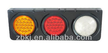"4"" round Rear Tail Truck Trailer Rear Tail LED Combination Lamps"