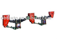 Tridem Axle Width 100mm Thickness 12mm 13 Leaf Spring 13T German Truck Semi Trailer Part Mechanical Suspension