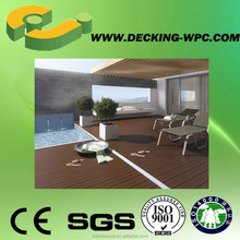 WPC Decking Used For Swimming Pool Non Poisonous More Health and Waterproof