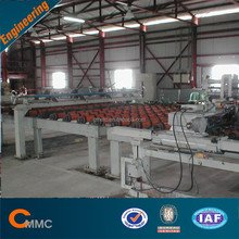 Sheet glass making machine
