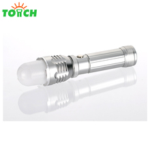 High power hunting led flashlight 18650 battery rechargeable long lasting zoomable tactical led torch flash lights