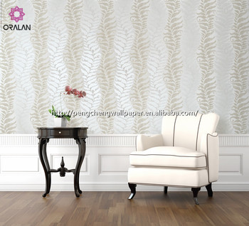 China removable simple design pvc wallpaper coatings (0.53*10m)
