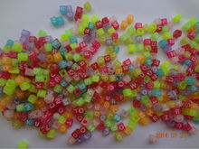 jewelry bead with Solid color have hole beads No mail eye glass beads Can do all kinds of accessories