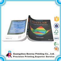 Bulk Produce Cheap Price High Quality Softcover Textbook Wholesale