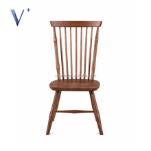 Vietname morden high-back relaxing rubber or ash soild wood chair