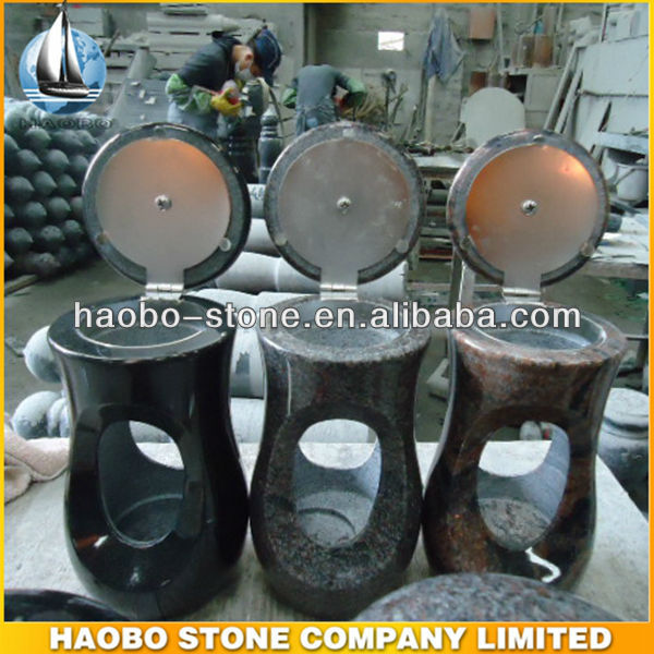 Haobo Stone Huge Collection of Granite Grave Lantern