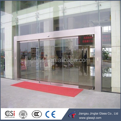 Tempered / toughened glass sliding door, thickness 5mm 6mm 8mm 10mm 12mm 15mm 19mm