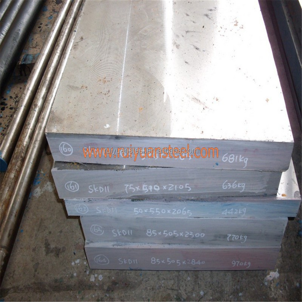 alibaba express 1.2379 SKD11cold work steel plate d2 steel price per kg