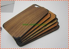 Low price china mobile phone natural wooden or bamboo + PC hard back cover wood case for iphone6 wholesale