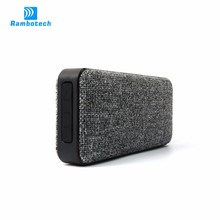 RS600 2017 best buy 10w output power IPX7 waterproof bluetooth stereo speaker fabric