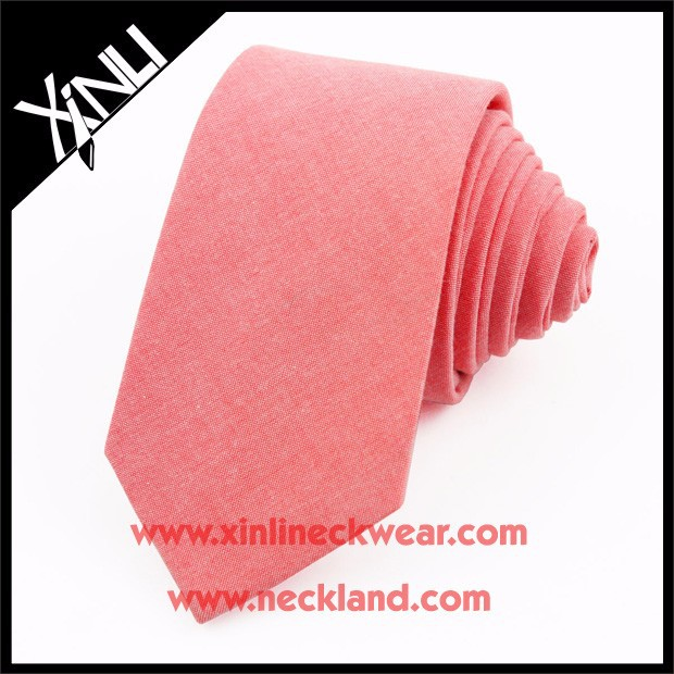 New Product Mens Custom 100% Cotton Ties