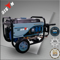 BISON(CHINA)5KW Home Use Portable AC Single Phase 5kva Honda Generator
