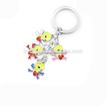 Cheap Sale Distinctively Skull Halloween Souvenir Fancy Keychain
