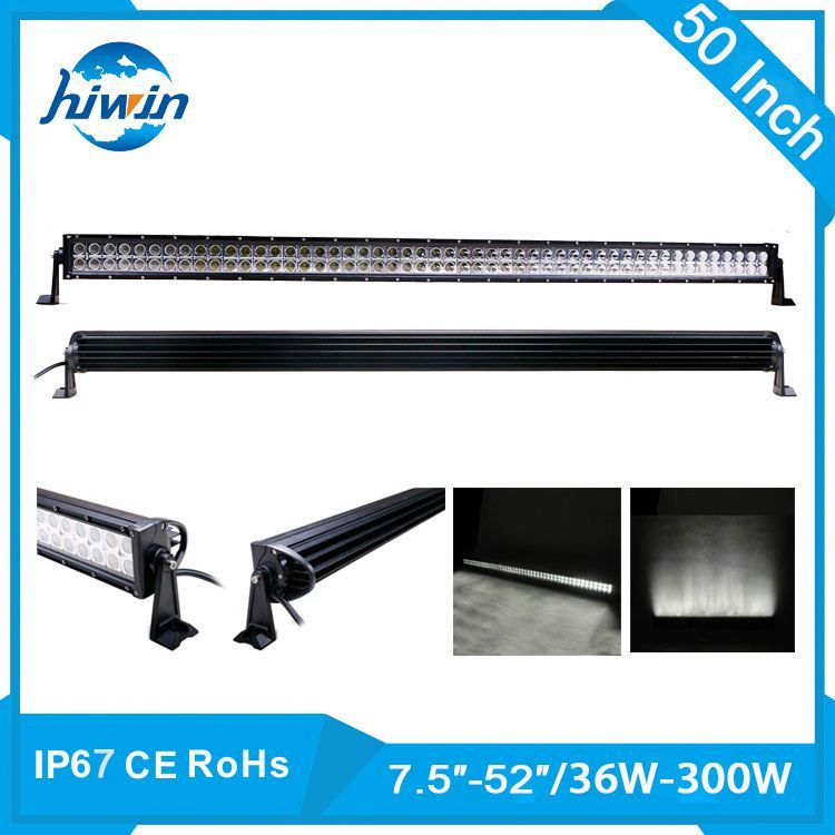 Hiwin 36-300W 7.5-52inch high powerful 39 120w led driving light bars./