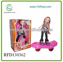RFD130362 Electrical Music Dance Beauty Girl Doll Toy Walking Singing Doll