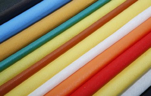 China Manufacturer 100% Colorful Polypropylene Nonwoven Fabric In Roll For Bag Making