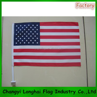 Country USA Car Flag