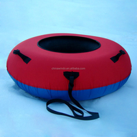 Hard bottom with inner tube sled for promotion