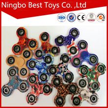 Hot Sale High Speed 2017 camouflage fidget spinner toys