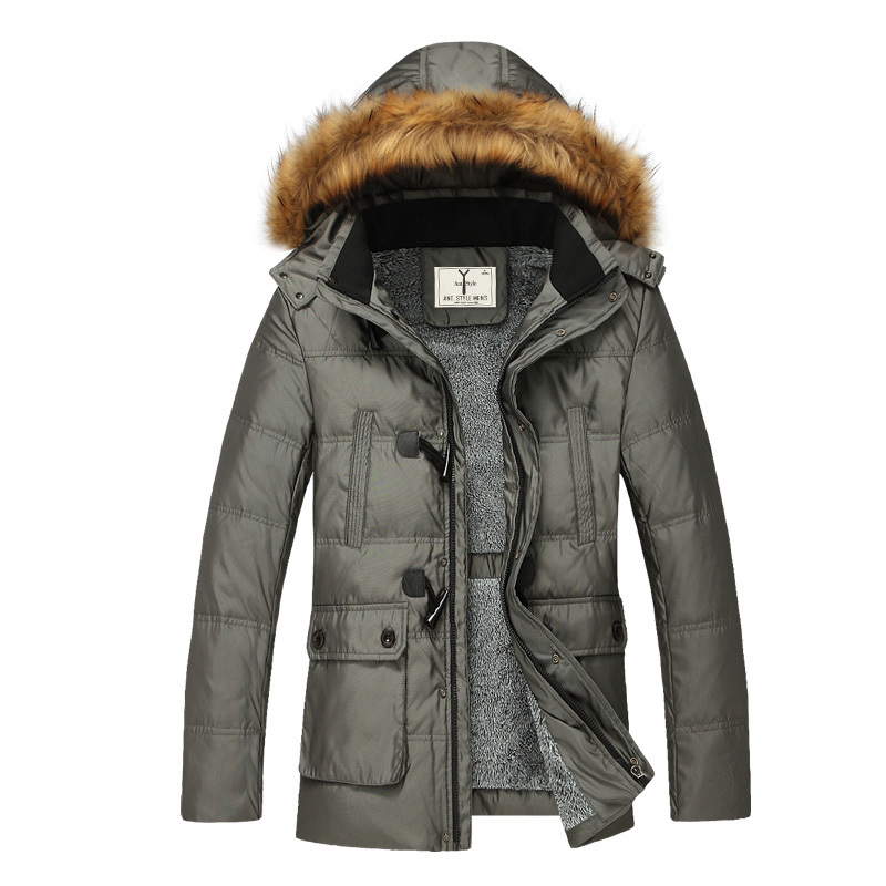 Latest Coat Styles For Men Outerwear, Custom Made Fur Collar Coat Men, Wholesale Cheap Winter Long Trench Coat Men