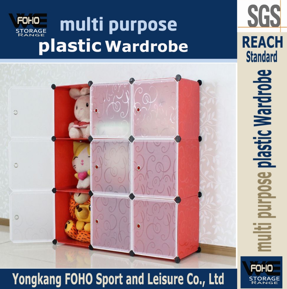 AL0033-9 9 cubes red continuable plastic storage Collection box