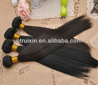 Top quality natural human hair ,Indian remy hair wholesale