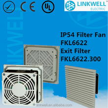 China alibaba Verified supplier made board Filter Air Ventilation Exhaust Fan Covers, cabinet fan filter for panel