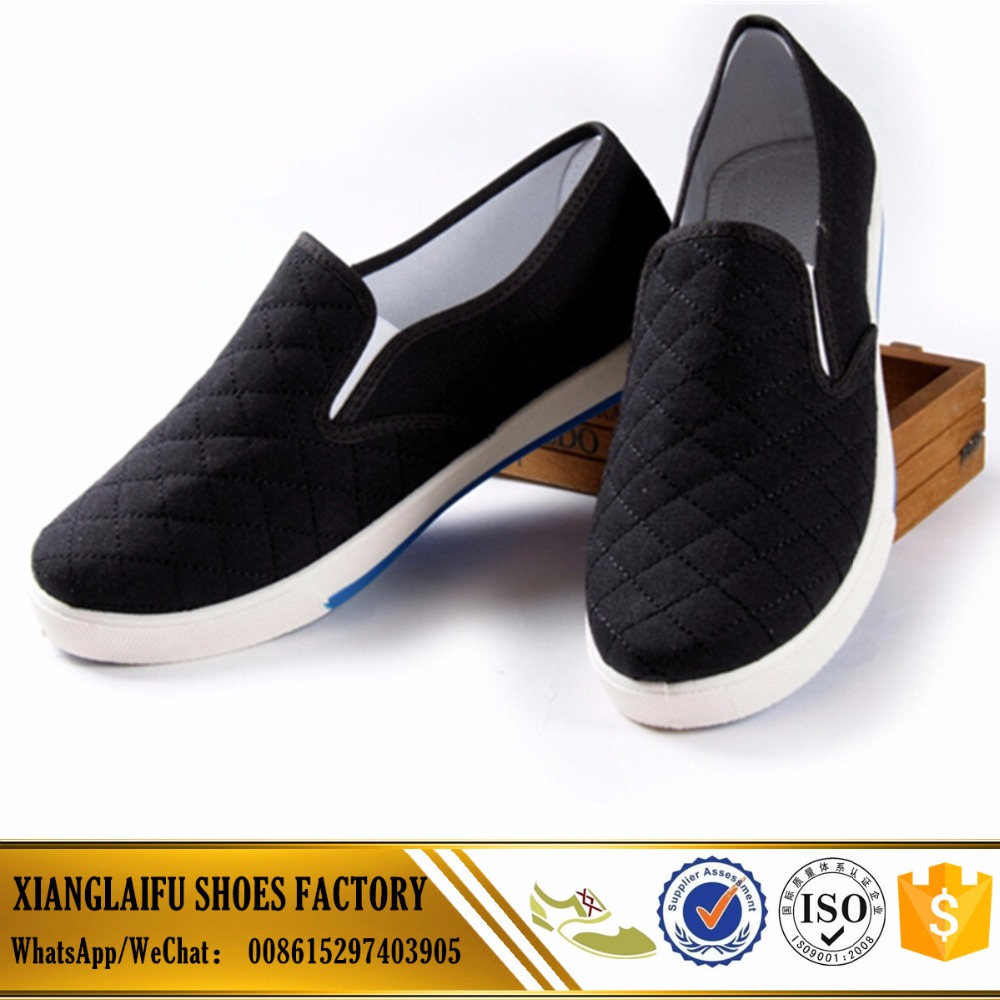 PVC Sole injection shoes for men kungfu shoes Lower price