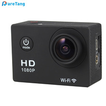 Bestselling sport DV HD 1080P manual remote control portable action screen camera