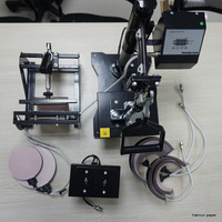 8 in 1 Combo heat press machine for mug ,cup, plate, t-shirt and etc
