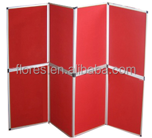 best selling 8pcs/set folded screen for your trade show