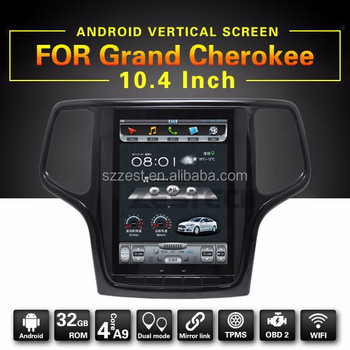 factory wholesale best quality Android car dvd player 3G WIFI, for jeep grand cherokee car multimedia player
