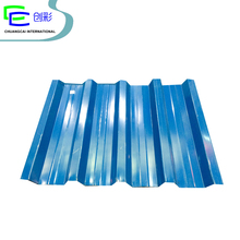 corrugated color coated steel types roofing sheet