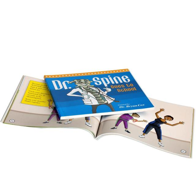 top quality well designed English story book for kids