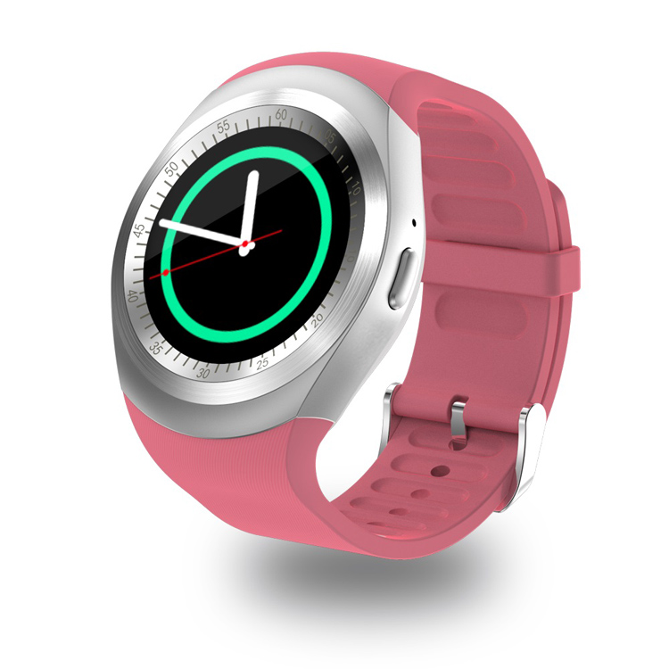 Bluetooth Smart Watch Y1, Hot Selling Smart Watch with 240*240 pixels, Bluetooth 3.0 and GSM Phone