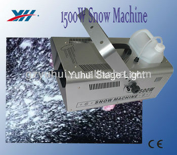 snow flurry machine