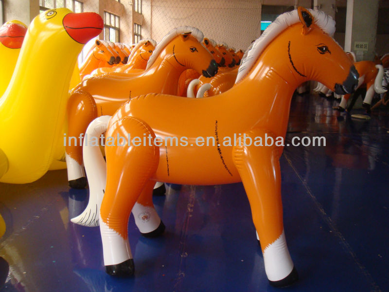 promotion inflatable horse helium balloon